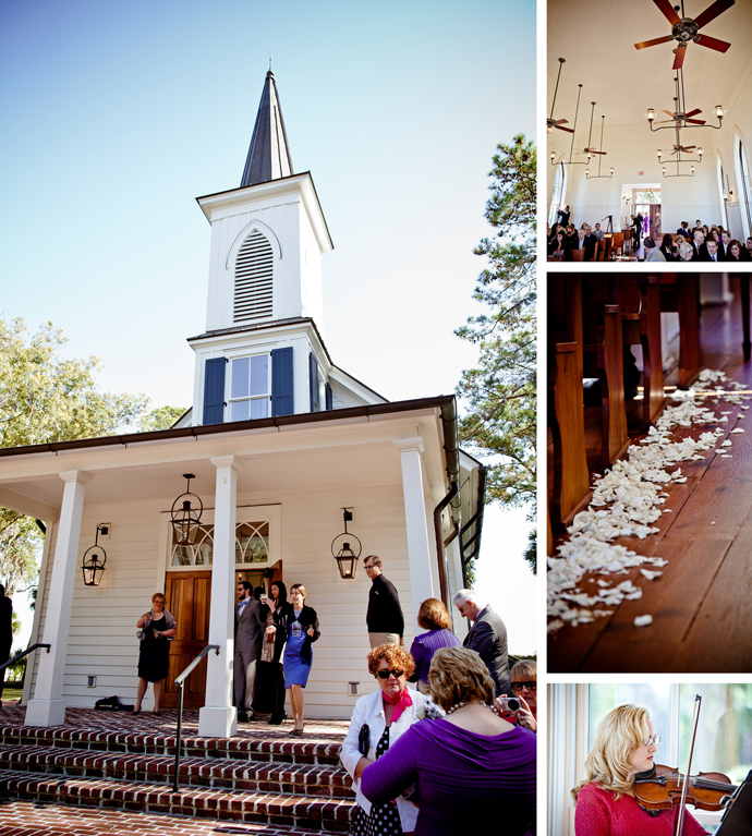 Grace Colm Wedding Waterside Chapel Bluffton Sc